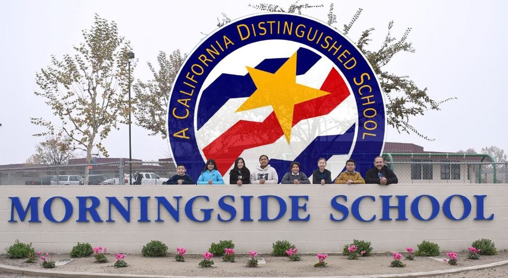 Morningside, A California Distinguished School for 2020